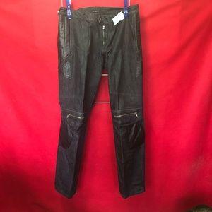 Men's Alessandrini Jeans. LP0007.  Black